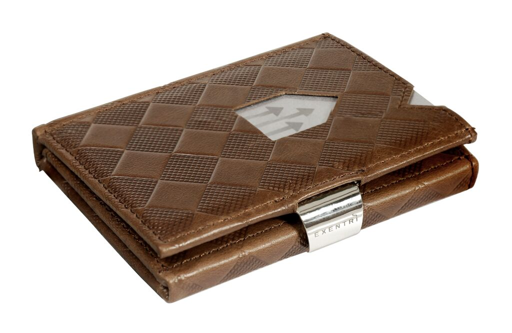 Exentri Wallet RFID Hazelnut Chess