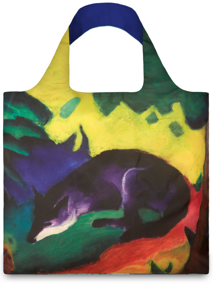 LOQI Museum Collection Shopper Franz Marc Blue Fox