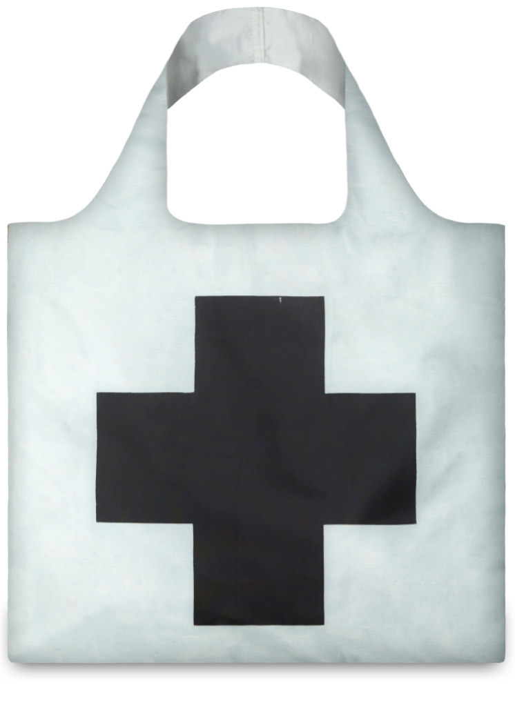 LOQI Museum Collection Shopper Kazimir Malevich Black Cross