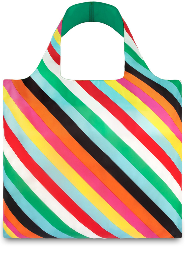 LOQI Shopper Stripes